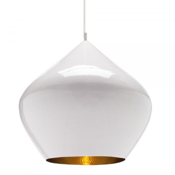 Beat Stout pendant light white