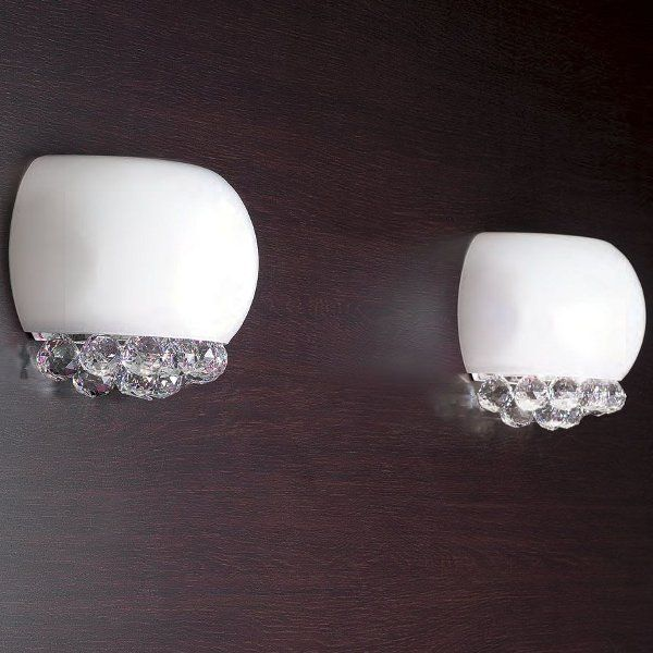 The Mir A1 wall sconce white