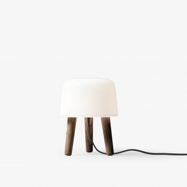 Milk NA1 table light Oiled Legs