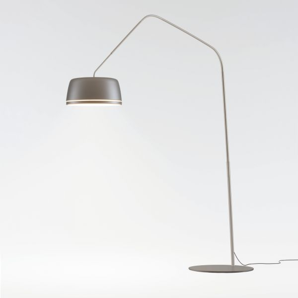 Central Floor lamp pearl gray