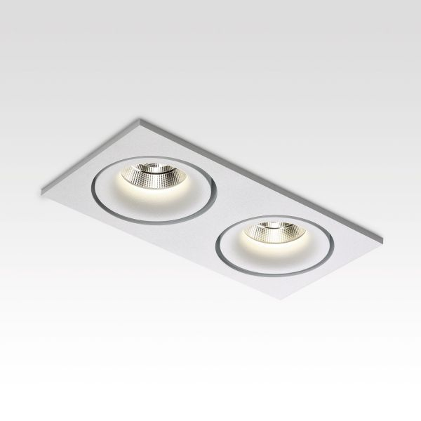 Deltalight, Reo 2 ceiling recessed spotlight, white color