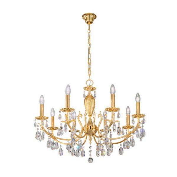 Victoria 8 crystal chandelier
