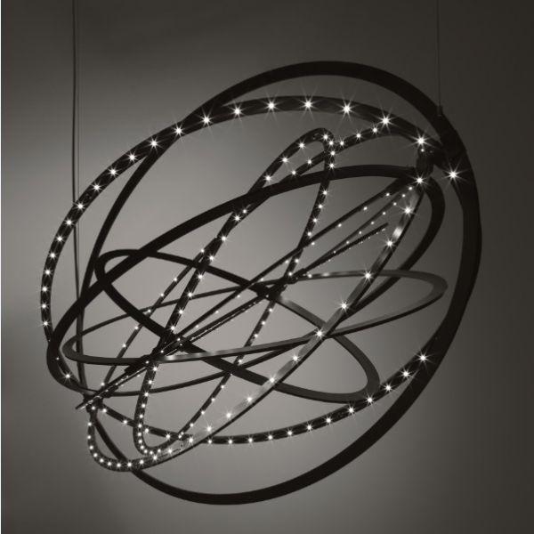 Copernico pendant light in black