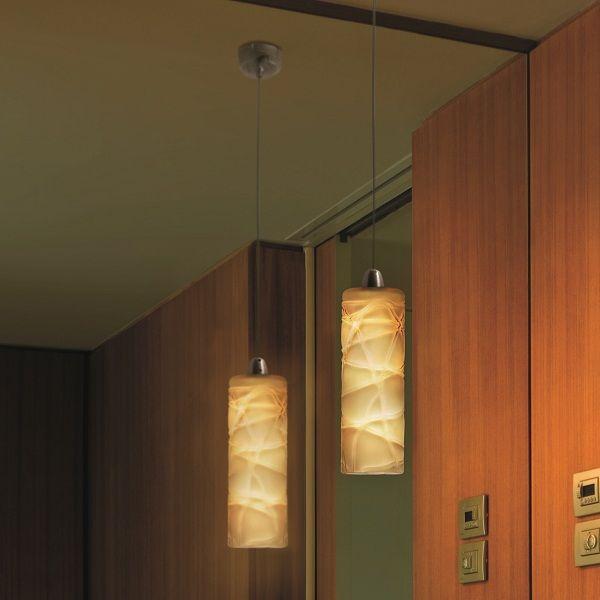 Follia SP 1 P Pendant light with crystal threads