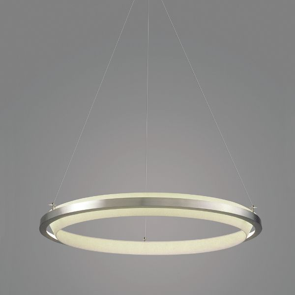 Nimba LED Pendant light, stainless steel