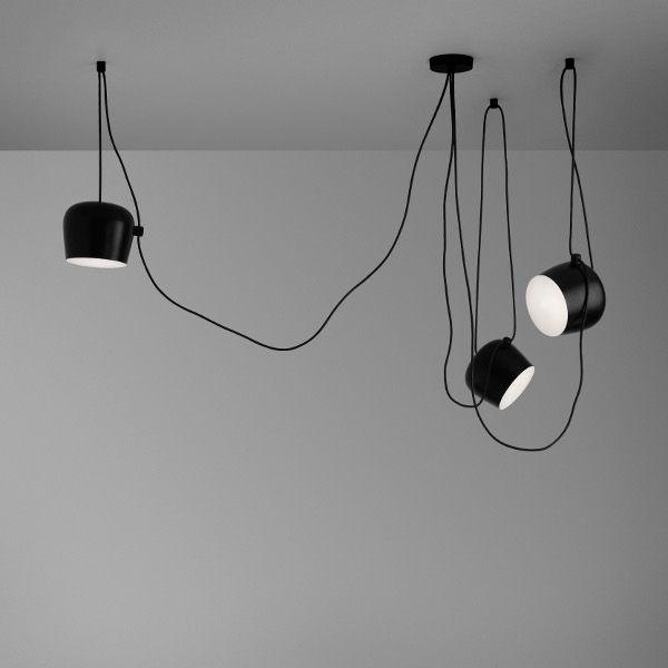 Aim Pendant light, 3 pendants black