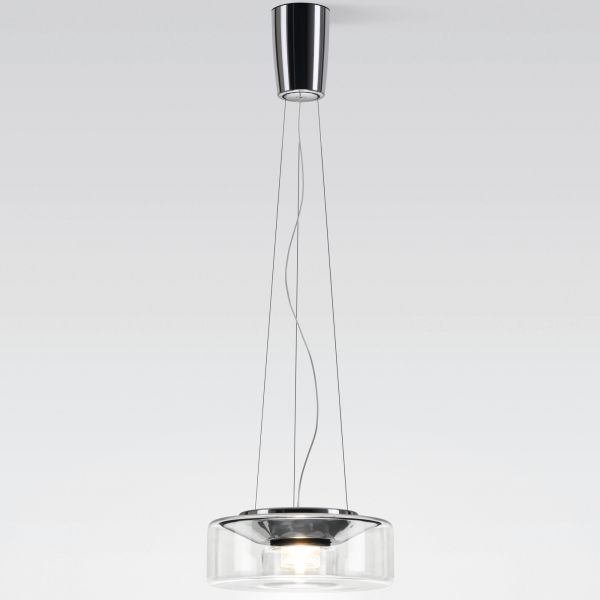 Curling Rope clear Halogen Pendant light