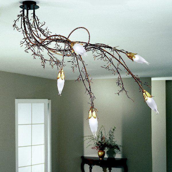The Erica 4062/PL5 ceiling light white