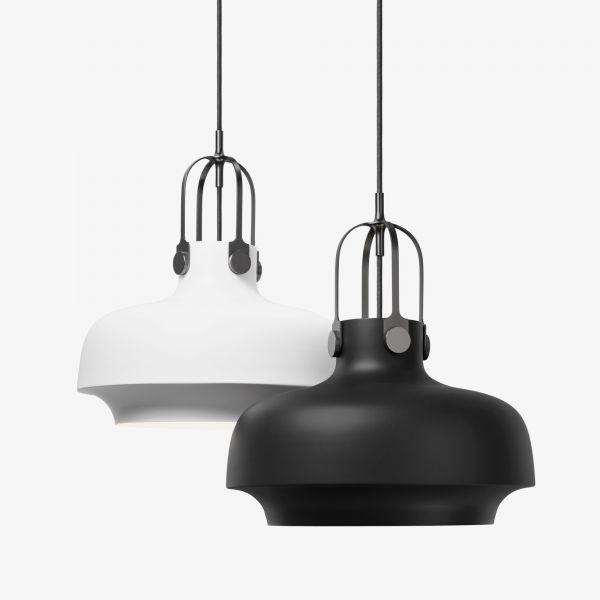 Copenhagen SC6 & SC7 Pendant light, white matt und black matt