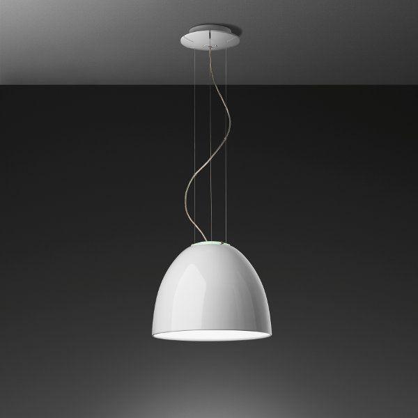 A white Nur mini Gloss pendant light