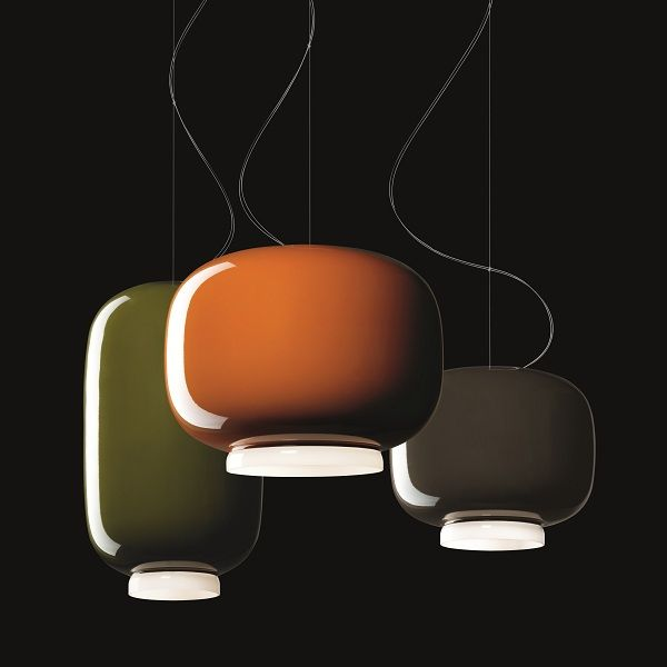 Chouchin 3 Pendant light in Combination with Chouchin 2 and 3