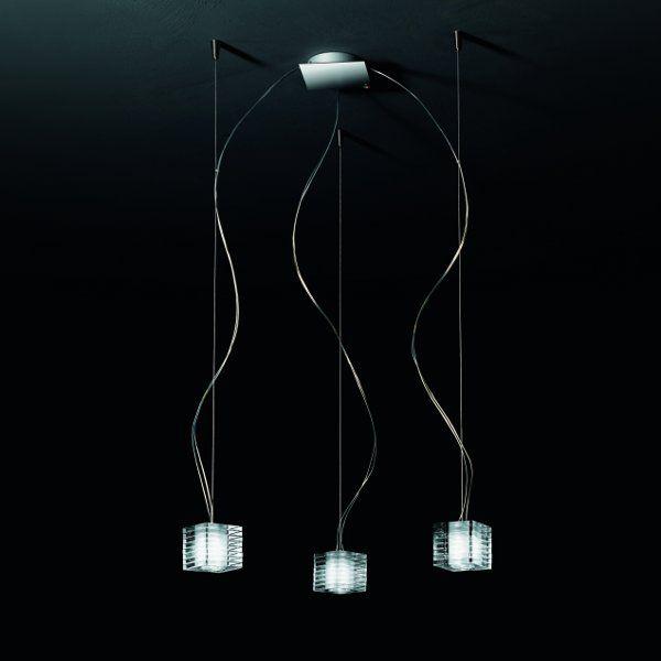 The Otto x Otto S3D pendant light in detail