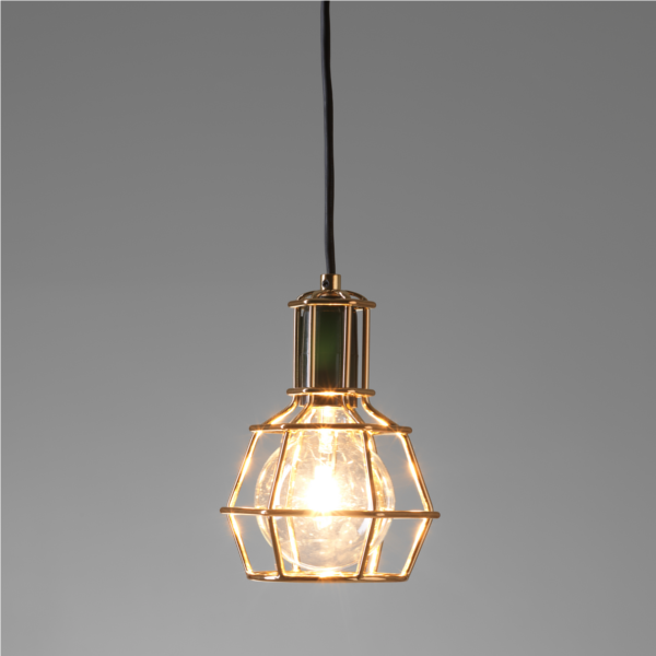 Work Lamp Pendant lamp gold