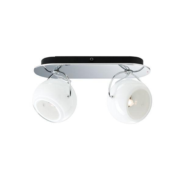 Beluga White D57 G31 Wall-/Ceiling light
