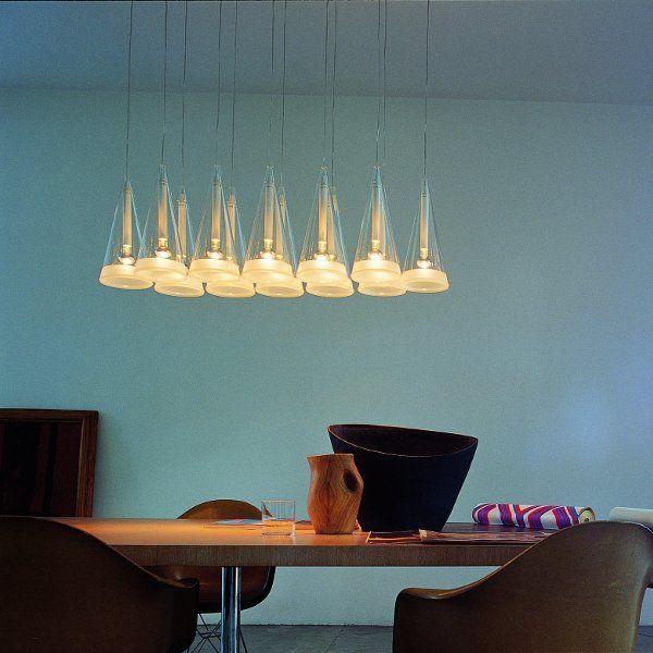Fucsia 12 suspension lamp