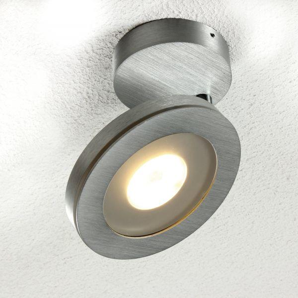 Vio ceiling light aluminium