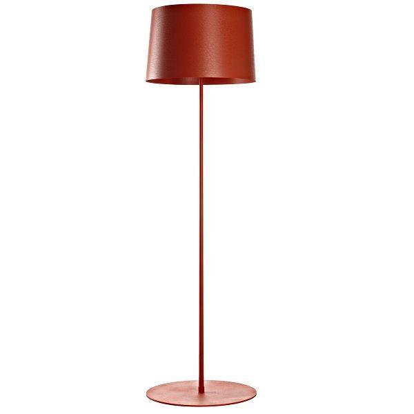 Twiggy Lettura Floor light, red