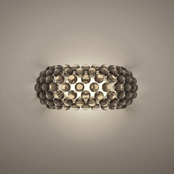 Caboche PLUS media wall lamp, grey