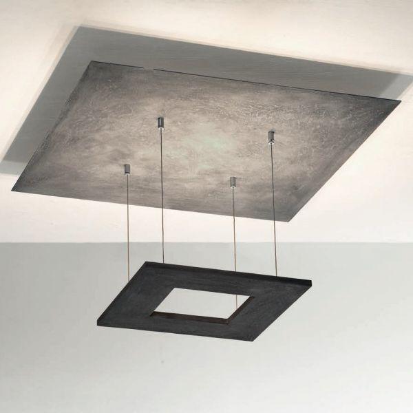 Zen ceiling light concrete look