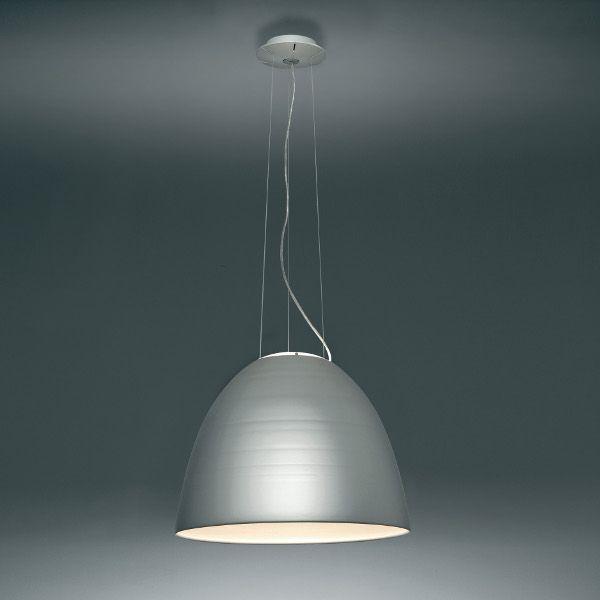 Nur Sospensione LED Pendant light, aluminium grey