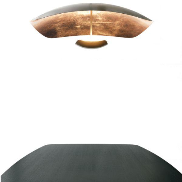 Penombra Ceiling light, copper