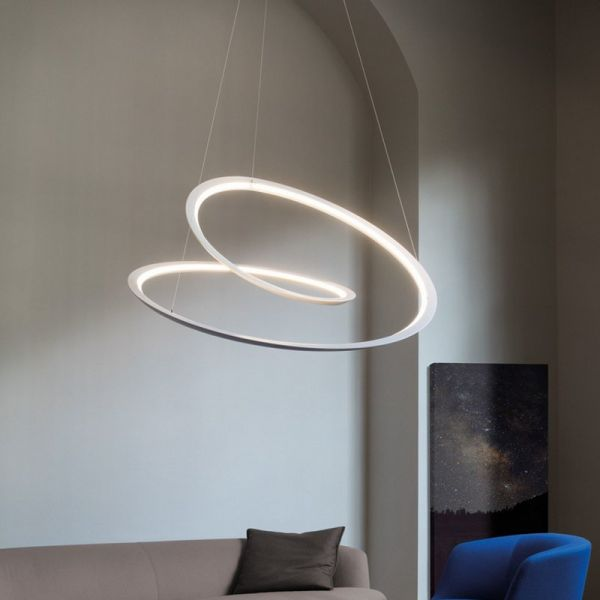 Kepler pendant light uplight