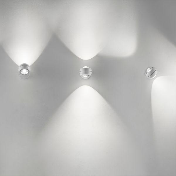 Nautilus Mini wall sconce, white
