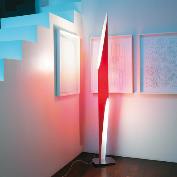 Shakti 200 floor lamp red