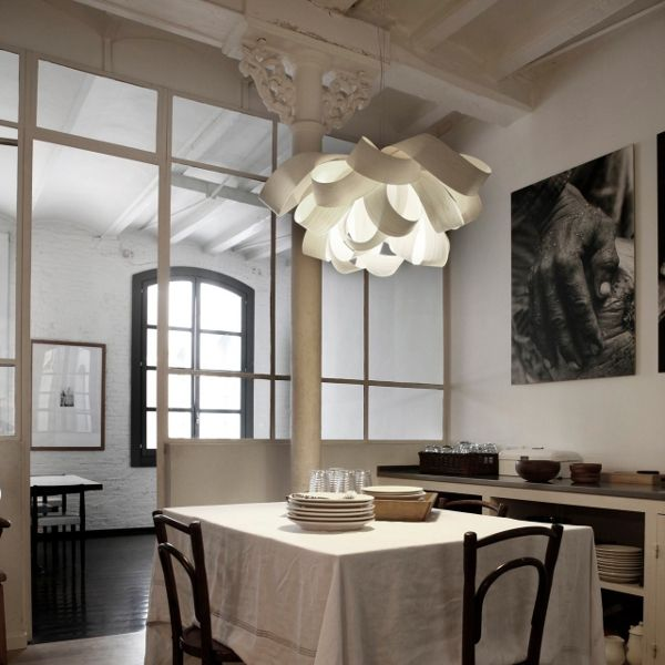 Agatha pendant lamp small white - not available for USA, Canada & Australia