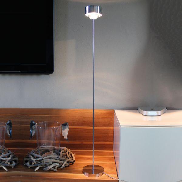 Puk Maxx Eye LED Floor light, chrome