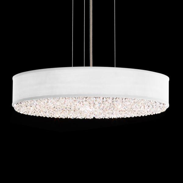 Eclyptix 0319 Pendant light, white shade