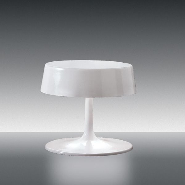 China Table light, white glossy
