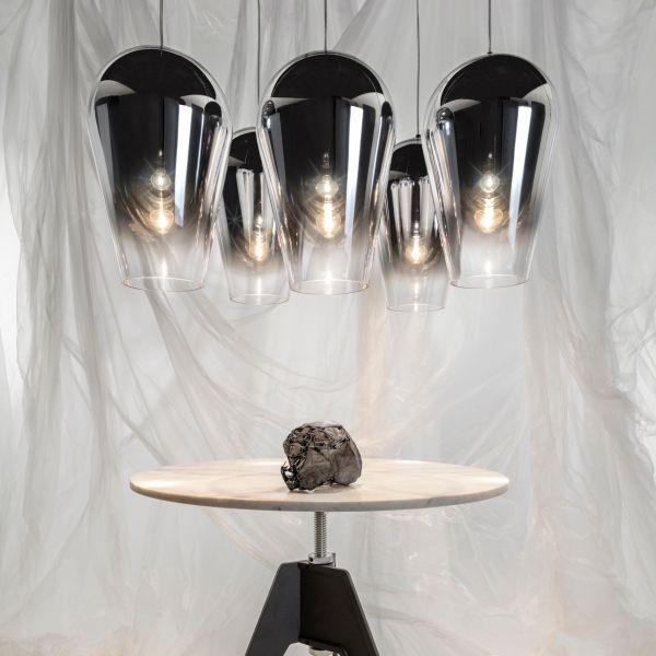 Fade Suspension Lamp, Chrome