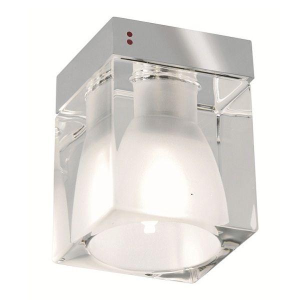 Cubetto Glass crystal E01 Table light