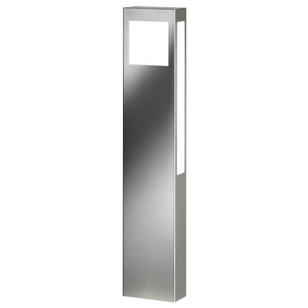 Aqua Paulo floor lamp stainless steel