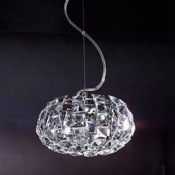 Andromeda S24 pendant light nickel