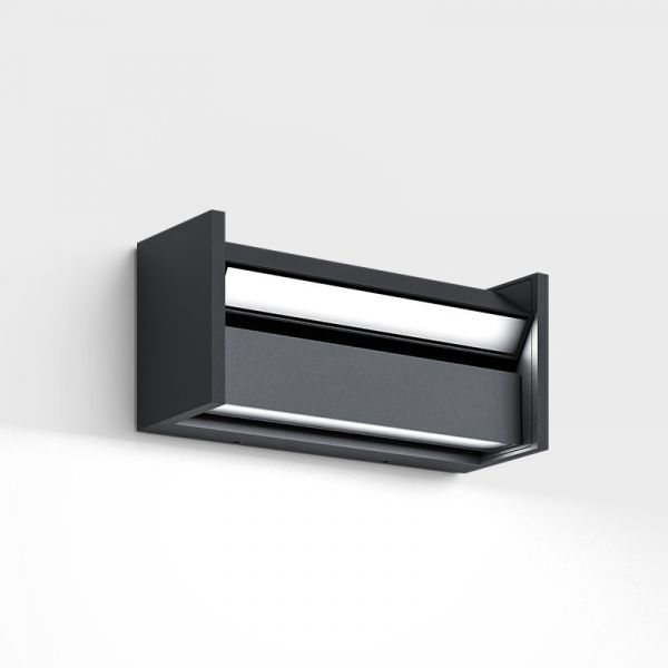 Slat Outdoor Wall and Ceiling light, antracite