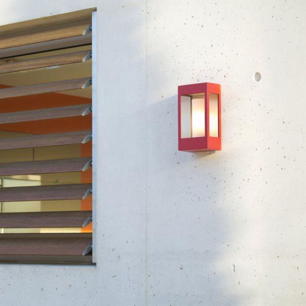 Brick wall light red