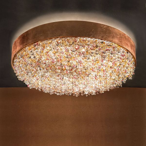 Olà PL6 90 Ceiling Light copper