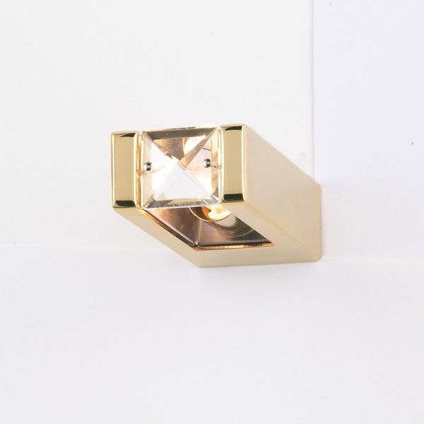 Lyra Spot wall lamp gold