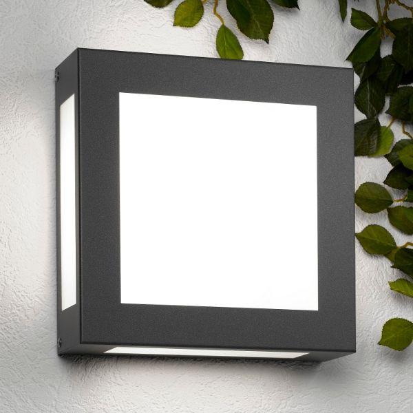Aqua Legendo wall lamp, anthracite