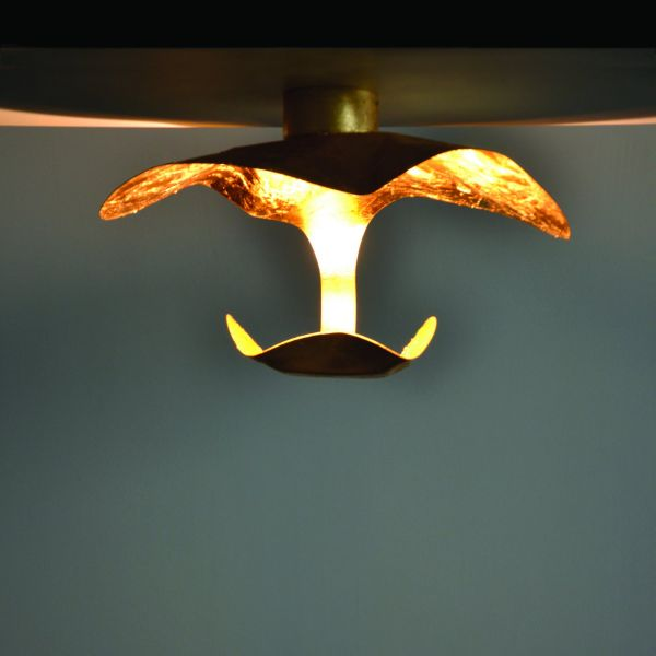 Knikerboker GI.GI wall/ceiling light, gold