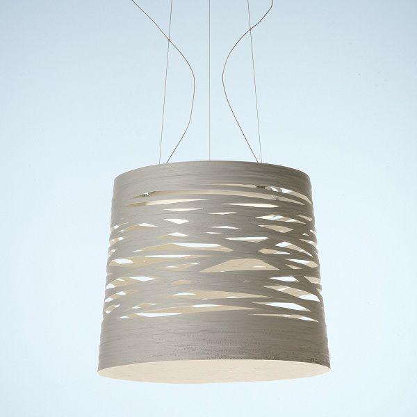 Tress grande Pendant light, white