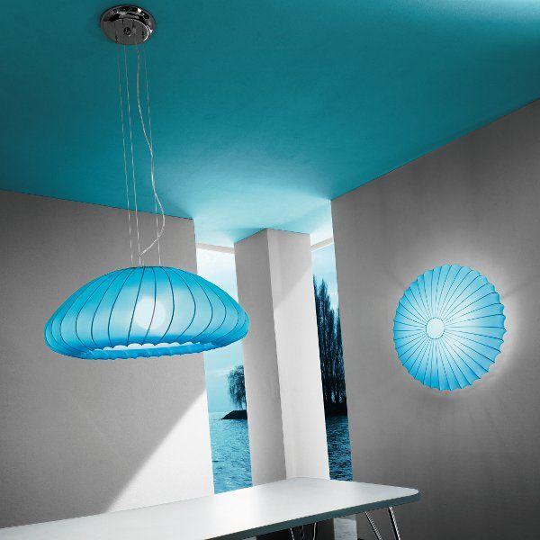 Pendant light Muse SP in lightblue