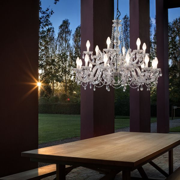 Drylight S18 Outdoor Chandelier