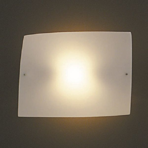 Folio grande Wall sconce, white