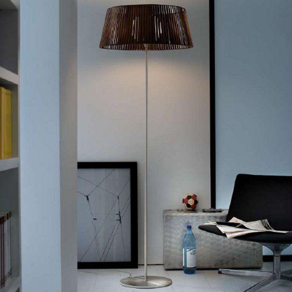 Ribbon TE Floor lamp, mocha