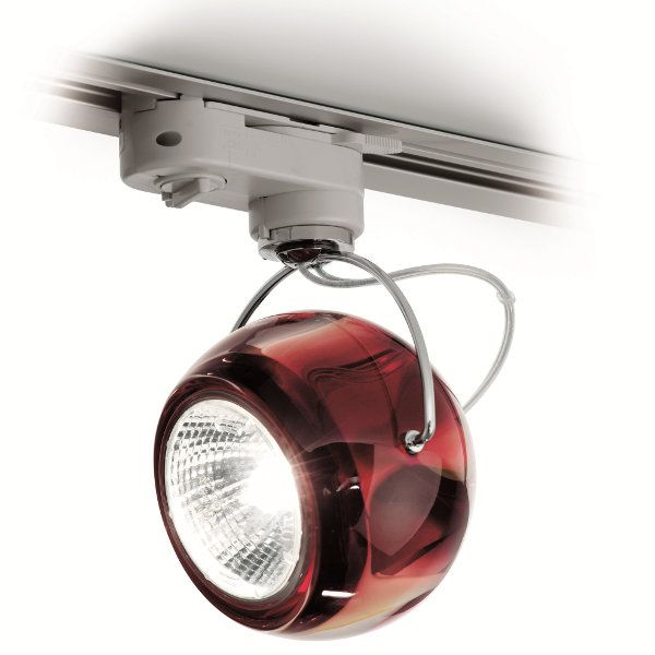 Beluga Colour J07 Ceiling light red