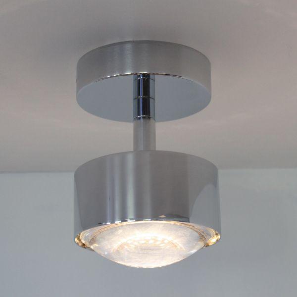 Puk Turn Halo Downlight Ceiling Light