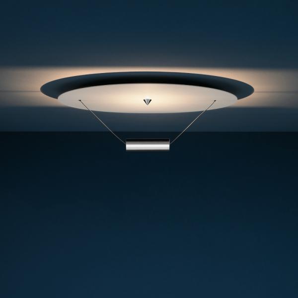 DiscO Ceiling light, white